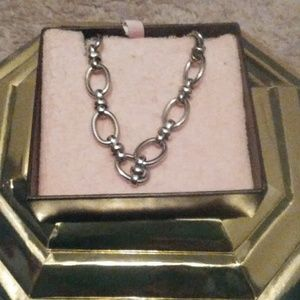 Silver Juicy Couture Choker
